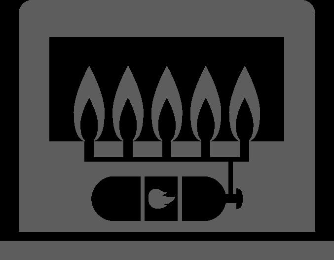 schoorsteenveger gas haard